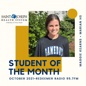 Maggie Kearns Student of the Month
